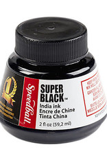 Speedball Super Black India Ink, 2 oz. Bottle