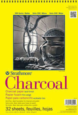 """Strathmore Charcoal Paper Pads 300 Series 18 x 24"""" 24 sheets"""