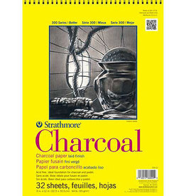 "Strathmore Charcoal Paper Pads 300 Series 18 x 24"" 24 sheets"