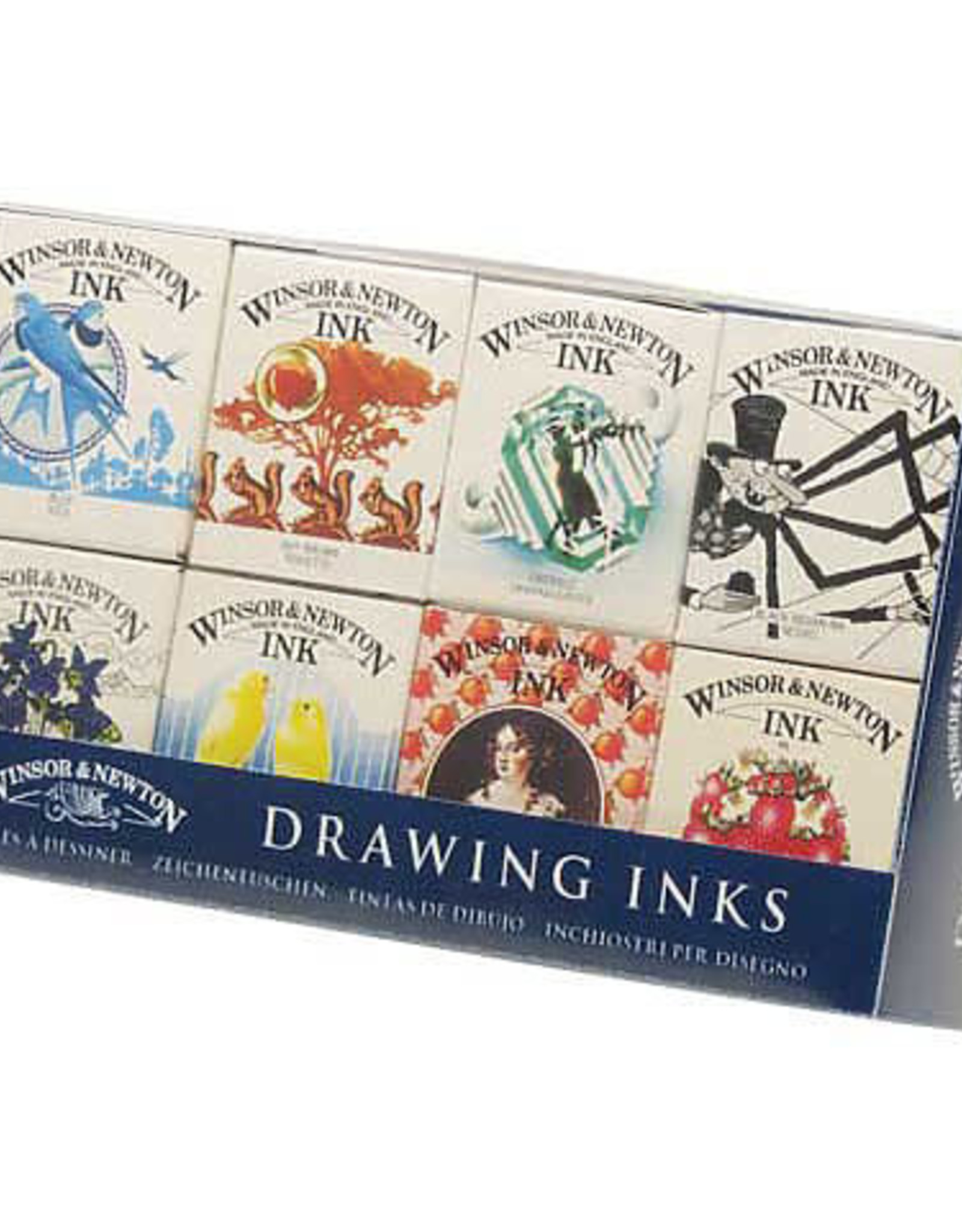 Winsor & Newton Introductory Drawing Ink Set