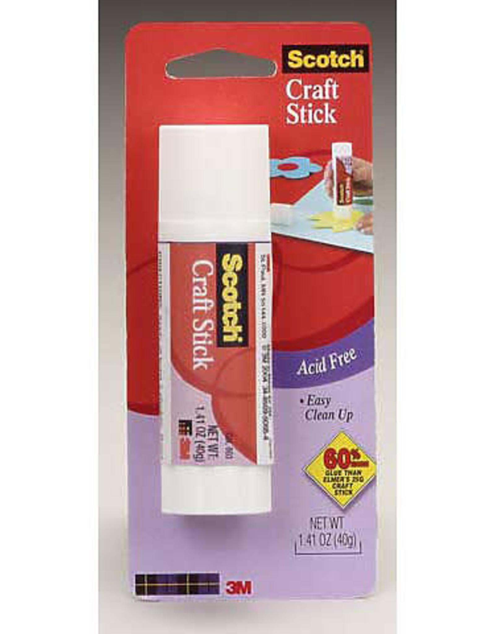 Scotch Acid-Free Glue Stick, 1.41 oz.