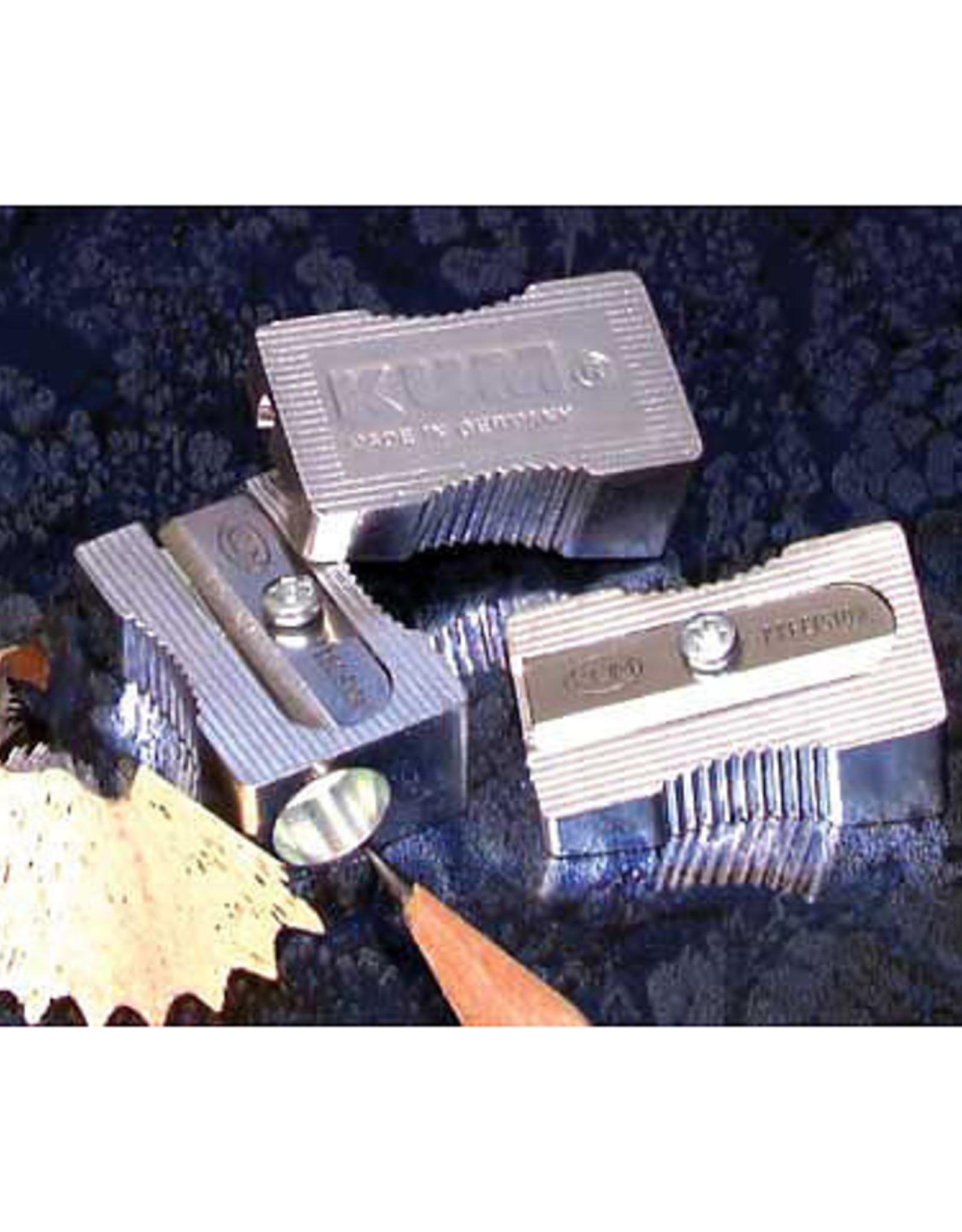 KUM Magnesium-Alloy Metal Wedge Sharpeners, Single-Hole