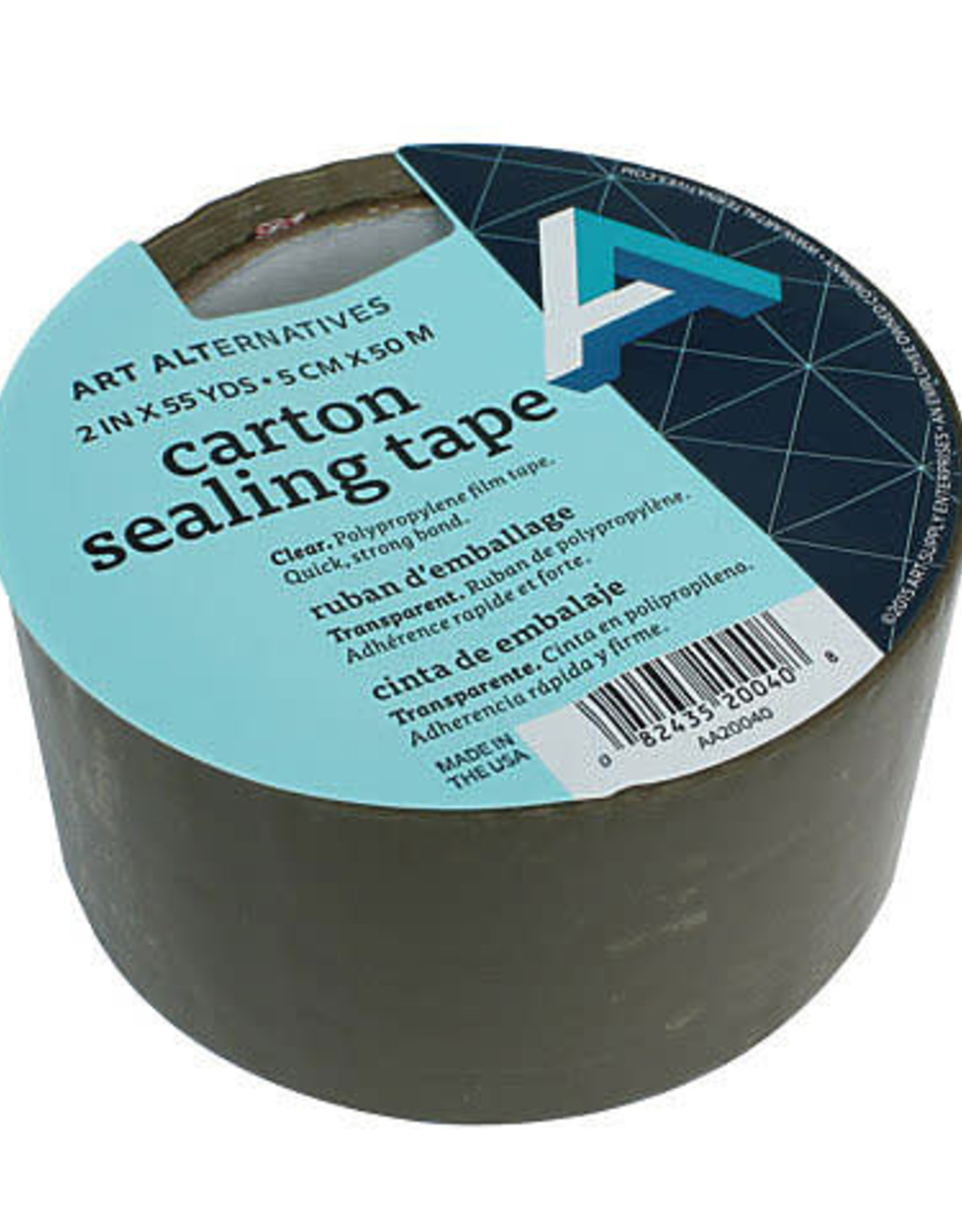 "Carton Sealing Tape 2"" x 55 Yards"
