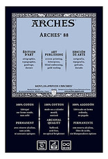 Arches 88 Silk Screen White 22X30