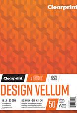 Design Vellum Pad 50 sheets 11 x 17