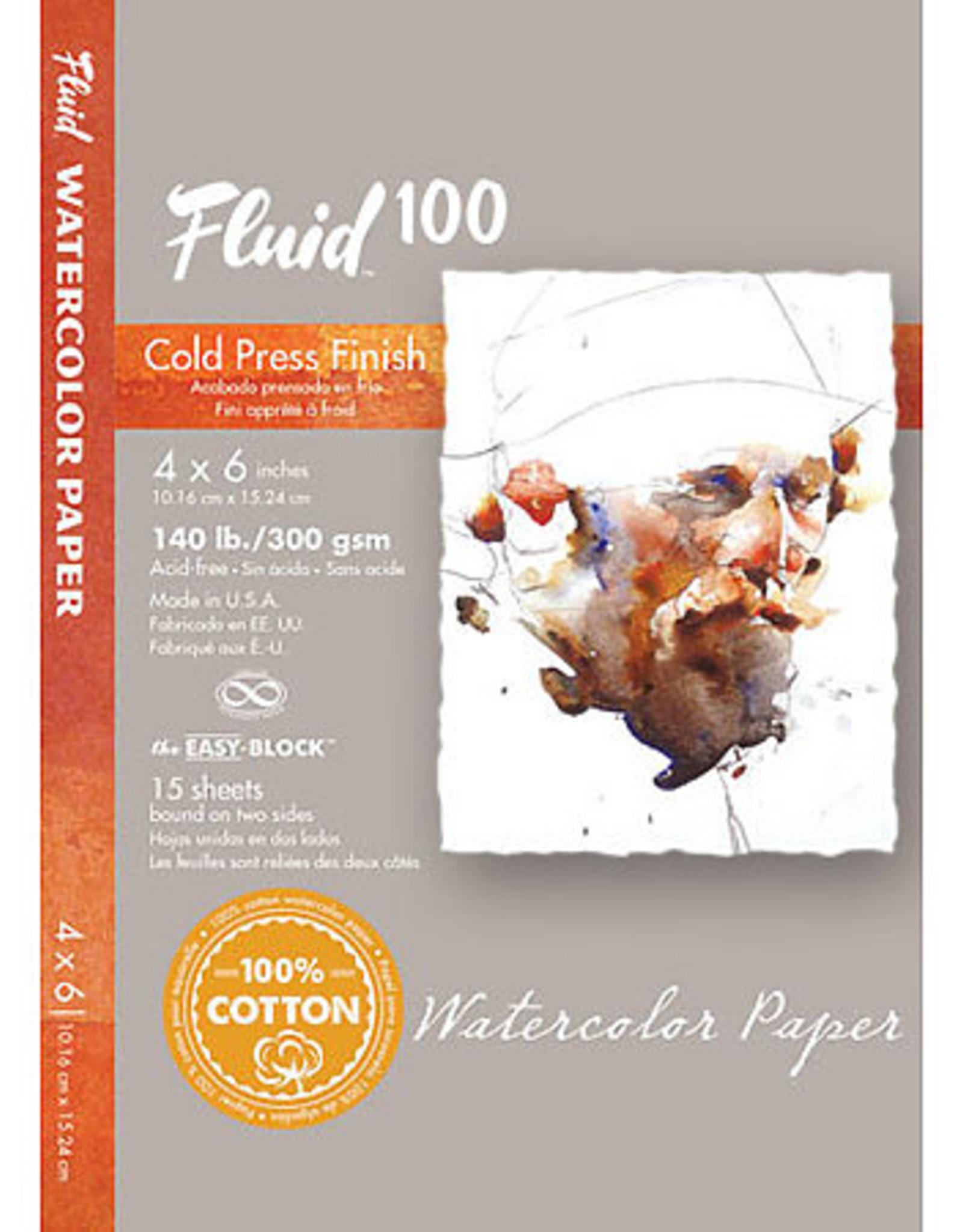 Fluid Watercolor Cold Press Block