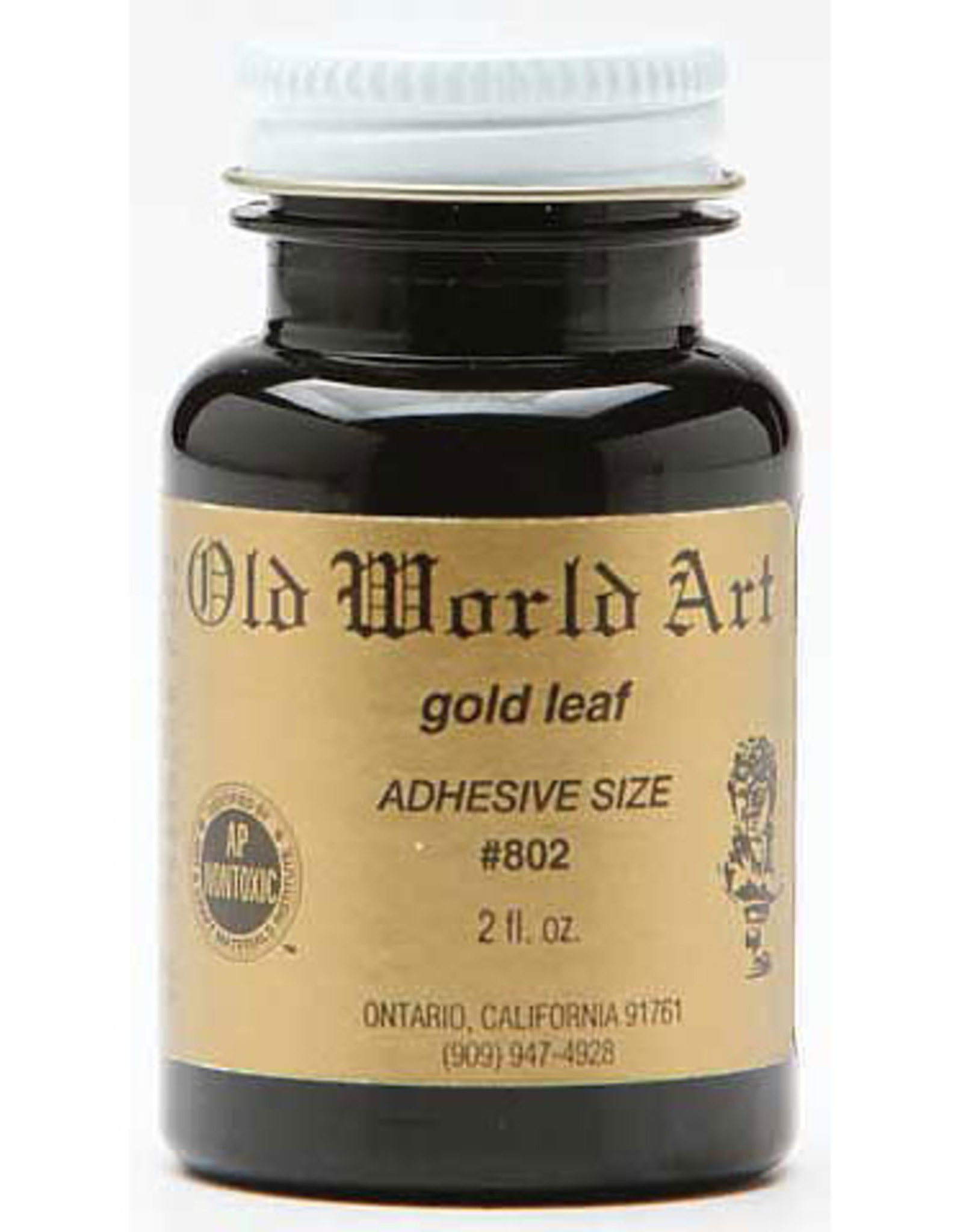 Gold Leaf Adhesive 2 oz