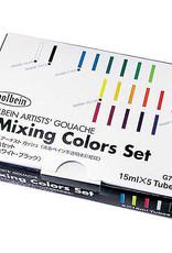Gouache Mixing Colors Set of 5 15ml