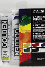 Introductory Set Golden Acrylic 6 pc