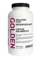 Golden Isolation Coat