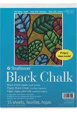 Kids Black Chalk Paper Pad