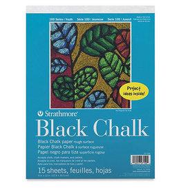 Kids Black Chalk Paper Pad