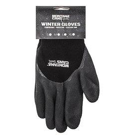Nylon and Latex Winter Gloves