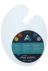 Plastic Palette Clear 9x12