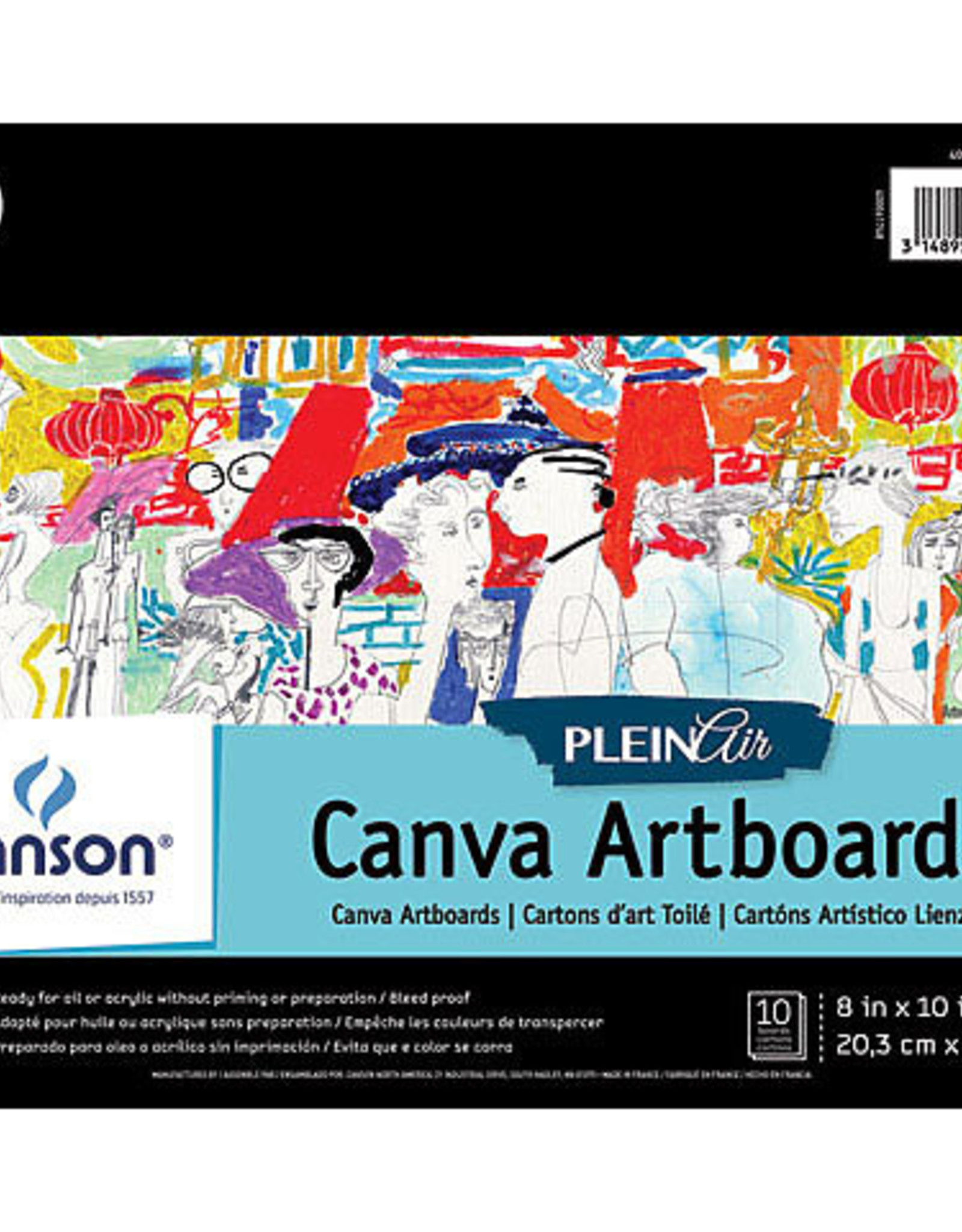 Plein Air Canva Artboard Pad 9x12""