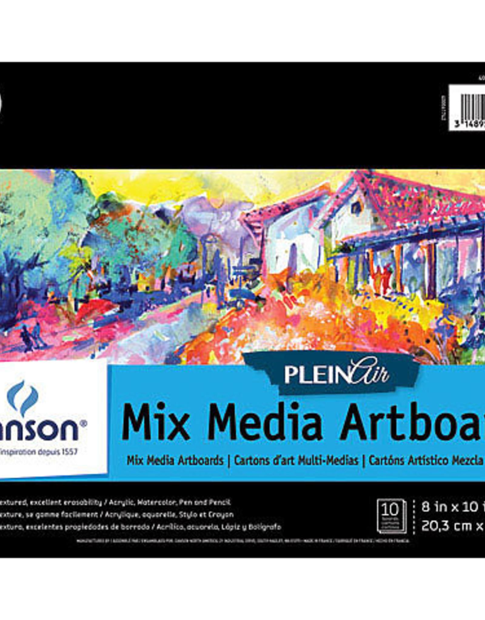 """Plein Air Mix Media Artboard Pad 8x10"""""""