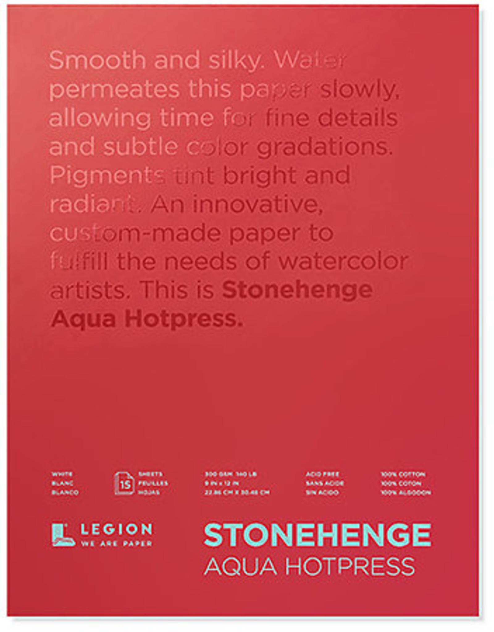 Stonehenge Aqua Watercolor Blocks