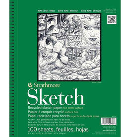 Strathmore Sketch Pad 400 Series 9x12""