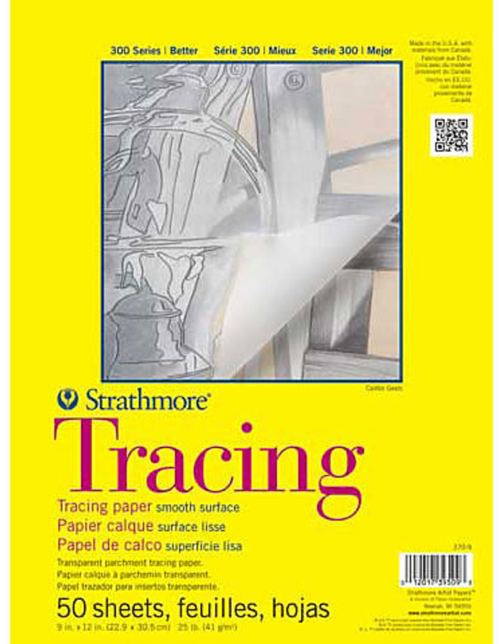 Strathmore Tracing Paper Pad 14x17