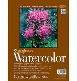 Strathmore Watercolor Spiral-Bound Pads