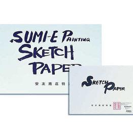 Sumi-e Pad Sketch Kozo 12 x 18