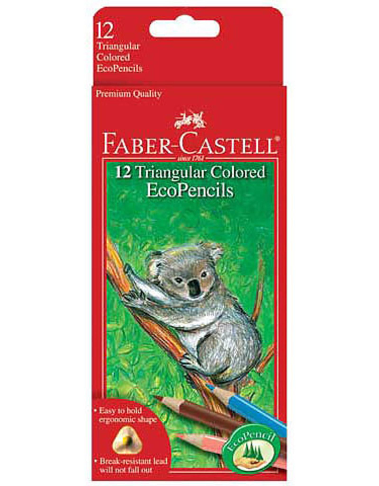 Triangular Colored Eco Pencils