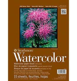 Watercolor Block Medium 9 X 12 Strathmore