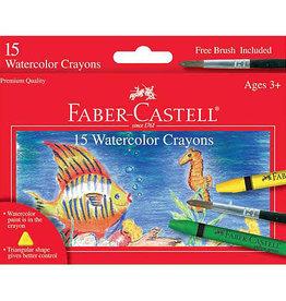 Watercolor Crayon Set of 15