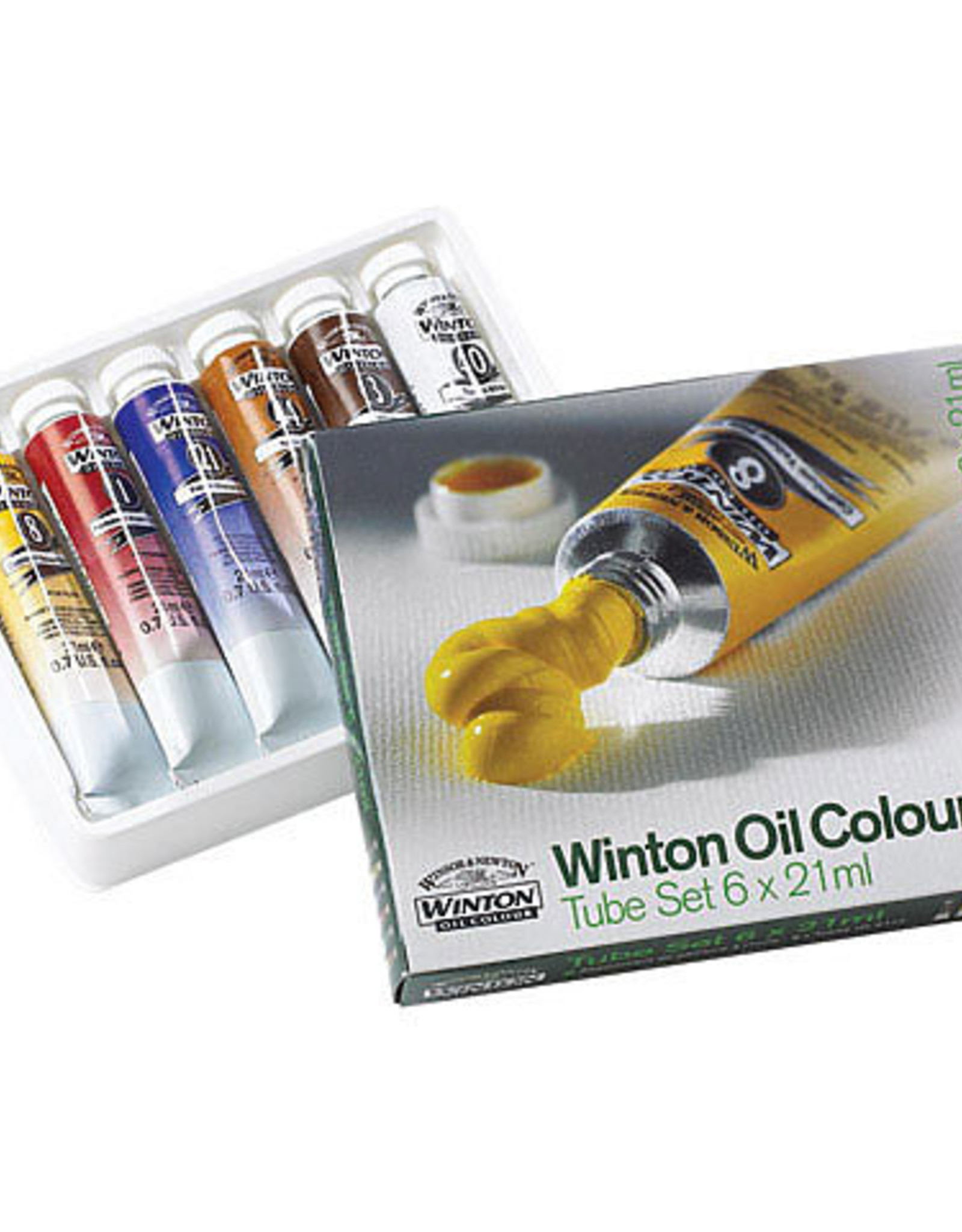 Winton Introductory Oil Color Set 6