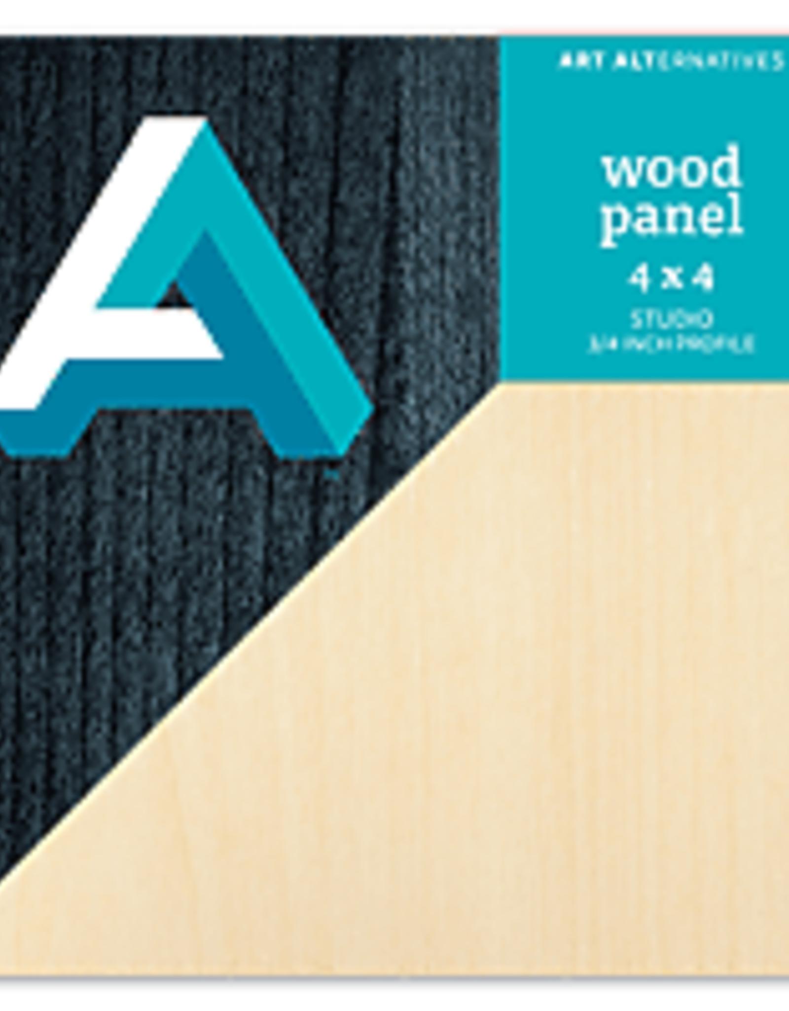 "Wood Panel 3/4"" Cradled"
