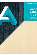 "Wood Panel 1.5"" Cradled"