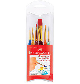 Assorted Brushes Set of 6