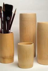 Bamboo Brush Vases