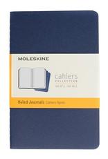 Moleskine Cahiers Set of 3 Blue