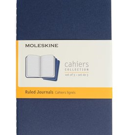 Moleskine Cahiers Set of 3 Blue