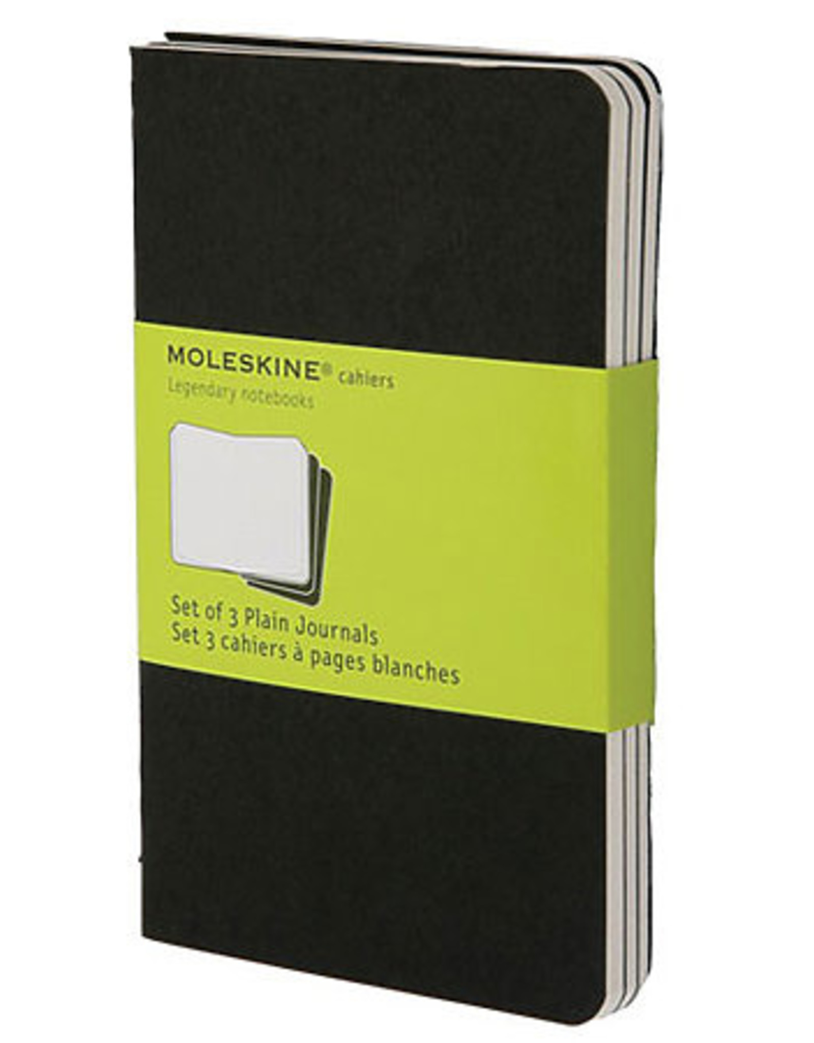 Moleskine Cahiers Set of 3 Black