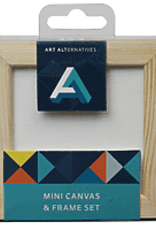 Mini Canvas & Frame