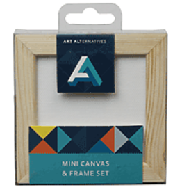 Mini Canvas & Frame