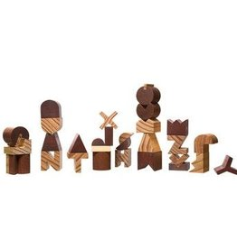 Wood Alphabet Set