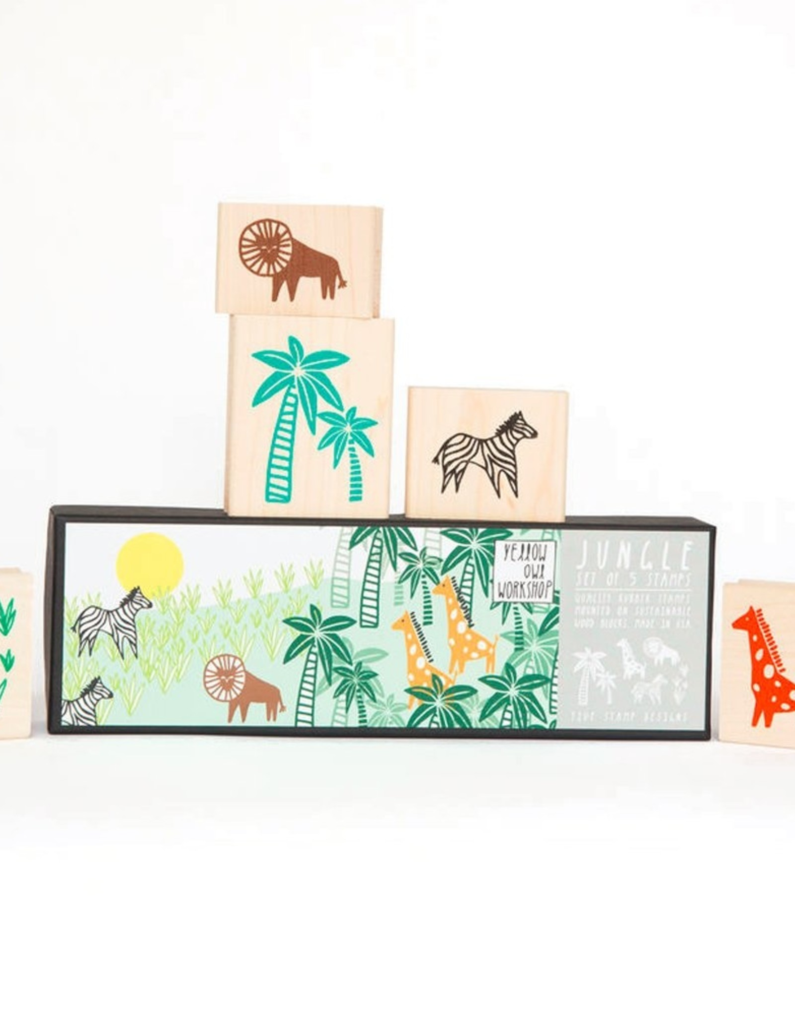 Jungle Stamp Set