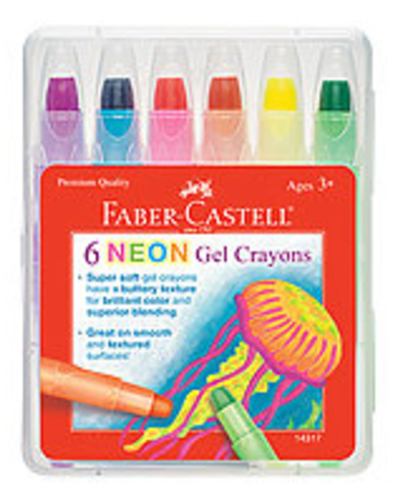 Gel Crayons Neon S/6