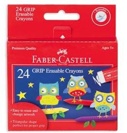 GRIP Erasable Crayons Set