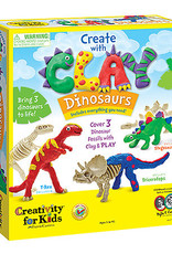Create w/ Clay Dinosaurs