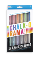 Chalk-O-Rama Dustless Chalk Sticks - Set of 12