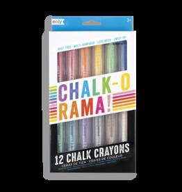 Chalk-O-Rama Dustless Chalk Sticks - Set of 12