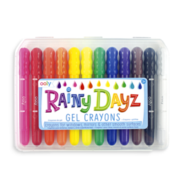 Rainy Day Gel Crayons - Set of 12