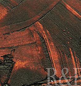 R&F Handmade Paints Encaustic Pigment Stick Brown Pink