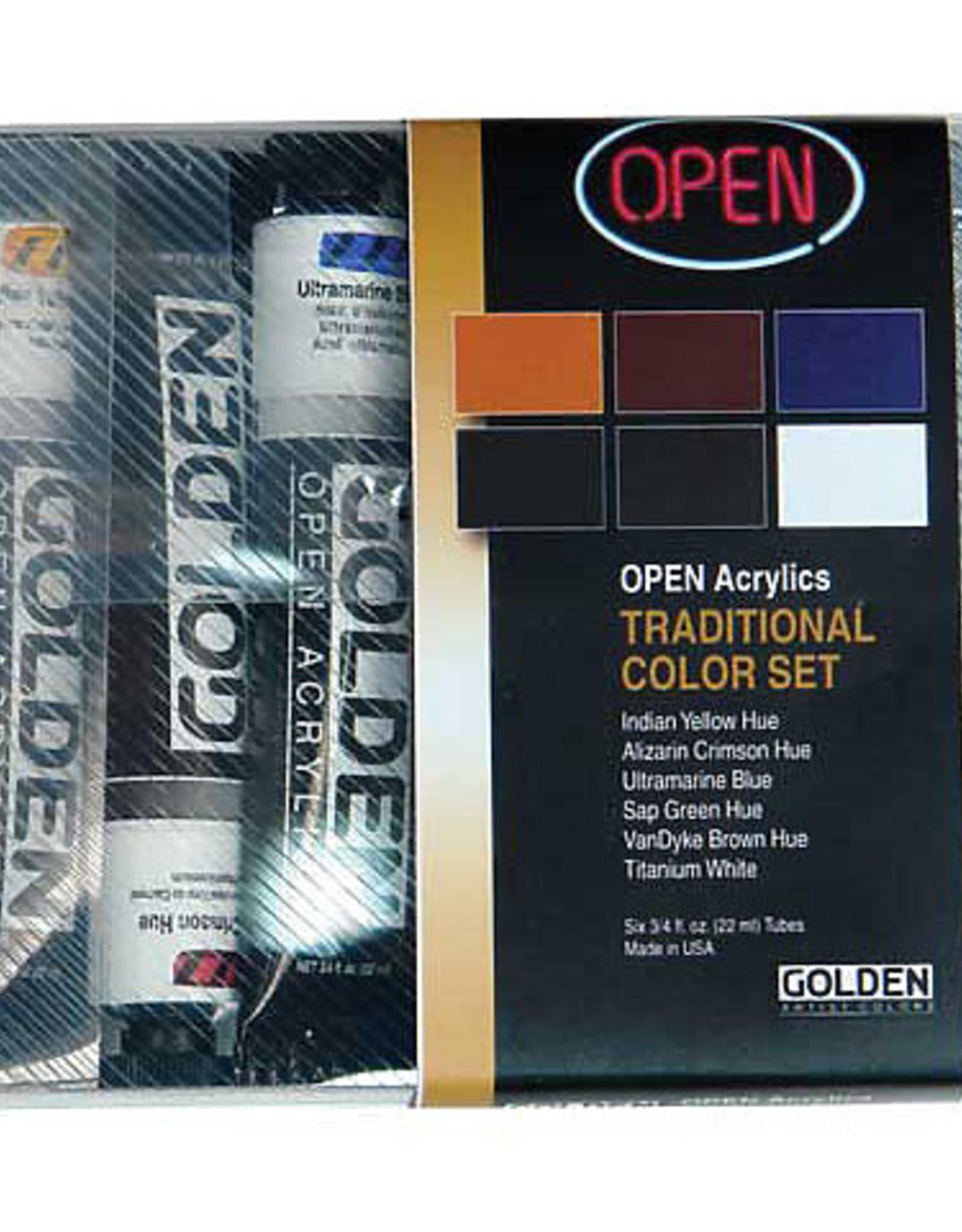 Open Acrylic Set