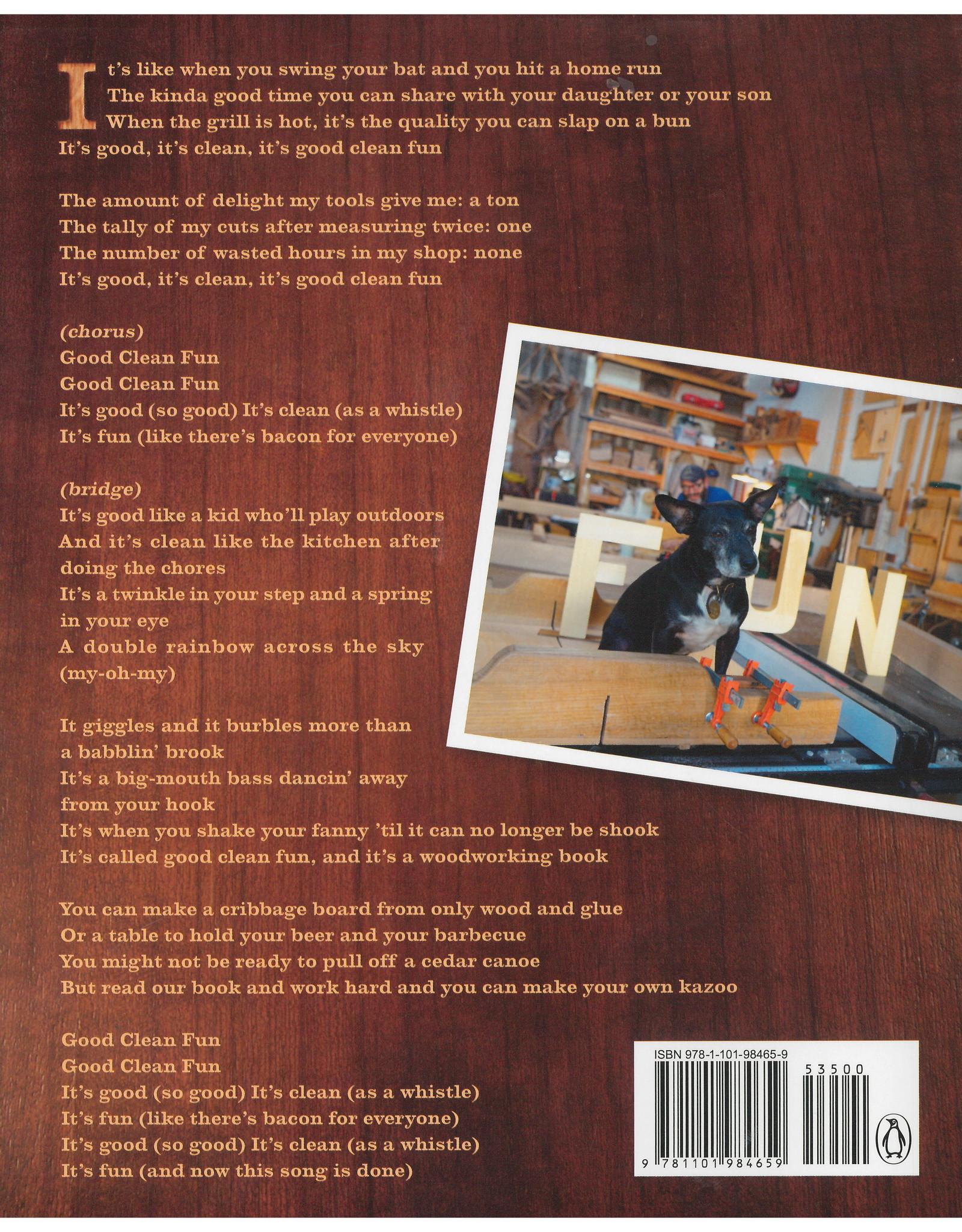 Good Clean Fun: Misadventures in Sawdust at Offerman Woodshop Offerman, Nick