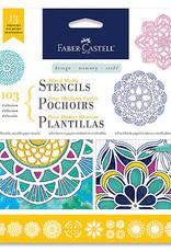 Faber-Castell MIXED MEDIA STENCILS MANDALA